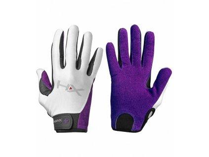 Dámské rukavice na CrossFit Harbinger X3 fialové
