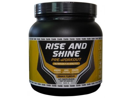 Aleš Lamka Pre workout - Titánus / Rise and Shine