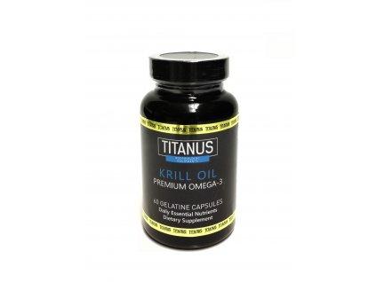 Aleš Lamka Omega3 Krill oil 60 cps - Titánus