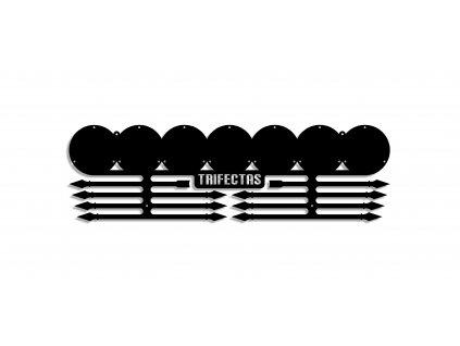 OCR věšáky na medaile - TRIFECTAS - kovové