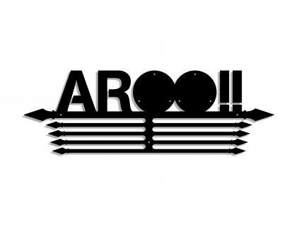 OCR věšáky na medaile AROO - kovové