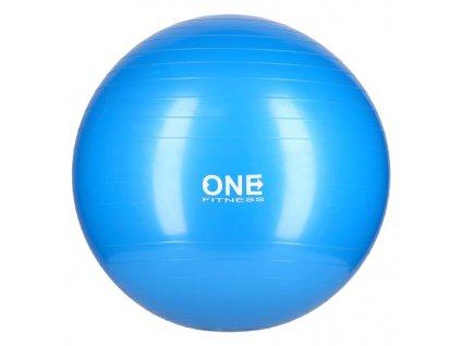 Gymnastický míč ONE Fitness Gym Ball 10 modrý, 55 cm
