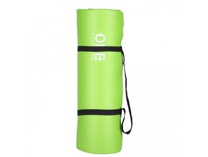 2. JAKOST - Jóga podložka ONE Fitness YM40 zelená