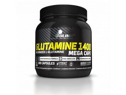 Glutamine Mega Caps 1400 300 kapslí
