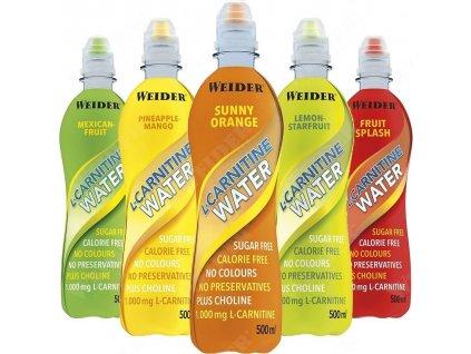 Weider L-Carnitine Water 500 ml 1000 mg l-karnitinu v 500 ml