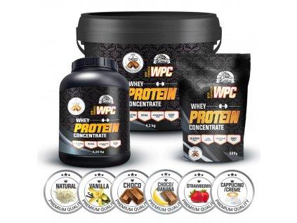 WPC 80 protein 1000g Koliba