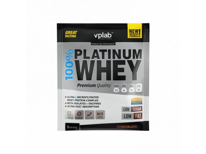VPLab 100% Platinum Whey 30 g Syrovátkový koncentrát + izolát
