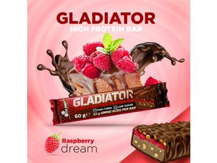 Gladiator delicious high protein bar 60g Olimp