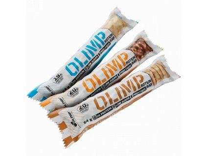 OLIMP PROTEIN BAR tyčinka 20g proteinu 64 g