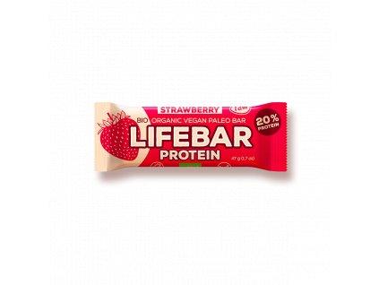 Lifefood Lifebar PROTEIN jahoda