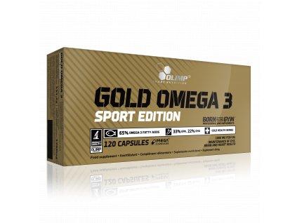 Gold Omega 3 Sport Edition 120 kapslí