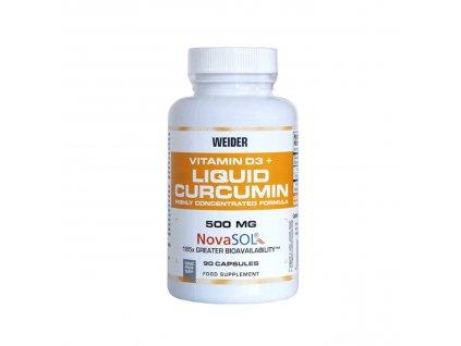 Weider Curcumin Liquid 500 mg + vitamin D3