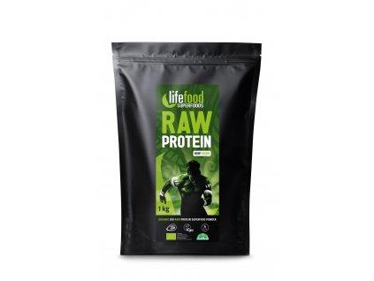LifeFood RAW 100% konopný proteinový prášek BIO
