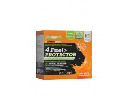 NAMEDSPORT 4 Fuel Protector 14x85g tréninkové pití s aminokyselinami a vitaminy