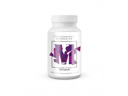 Performance Magnesium 1000 mg, 100 kapslí, (Hořčík 200 mg + Vitamín B6)