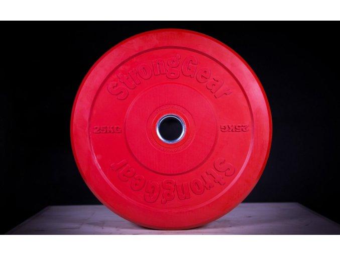Bumper kotouč - červený