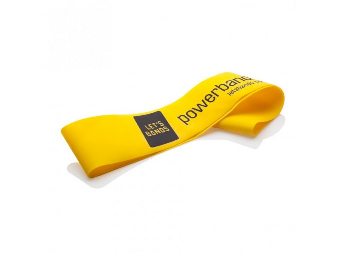 MINI odporová guma žlutá