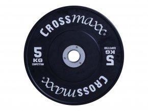 Soutěžní bumper kotouče barevné, guma ocel 50 mm Crossmaxx (Váha 25 kg)