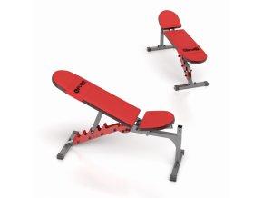Polohovatelná lavička FUBO Fitness