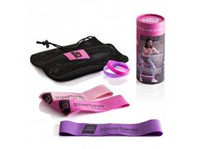 MINI odporové gumy - sada pro ženy
