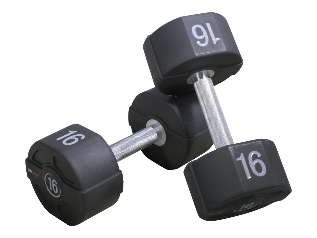 Jednoručné činky s pevnou váhou