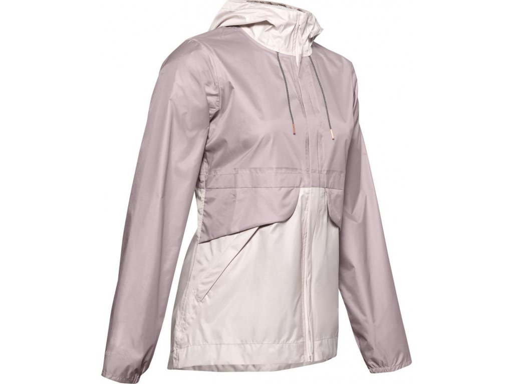 Dámská bunda Under Armour Coudburst Shell (Velikost M, Barva Růžová)