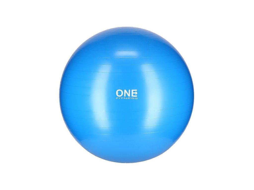 4829 gymnasticky mic one fitness gym ball 10 modry 75 cm