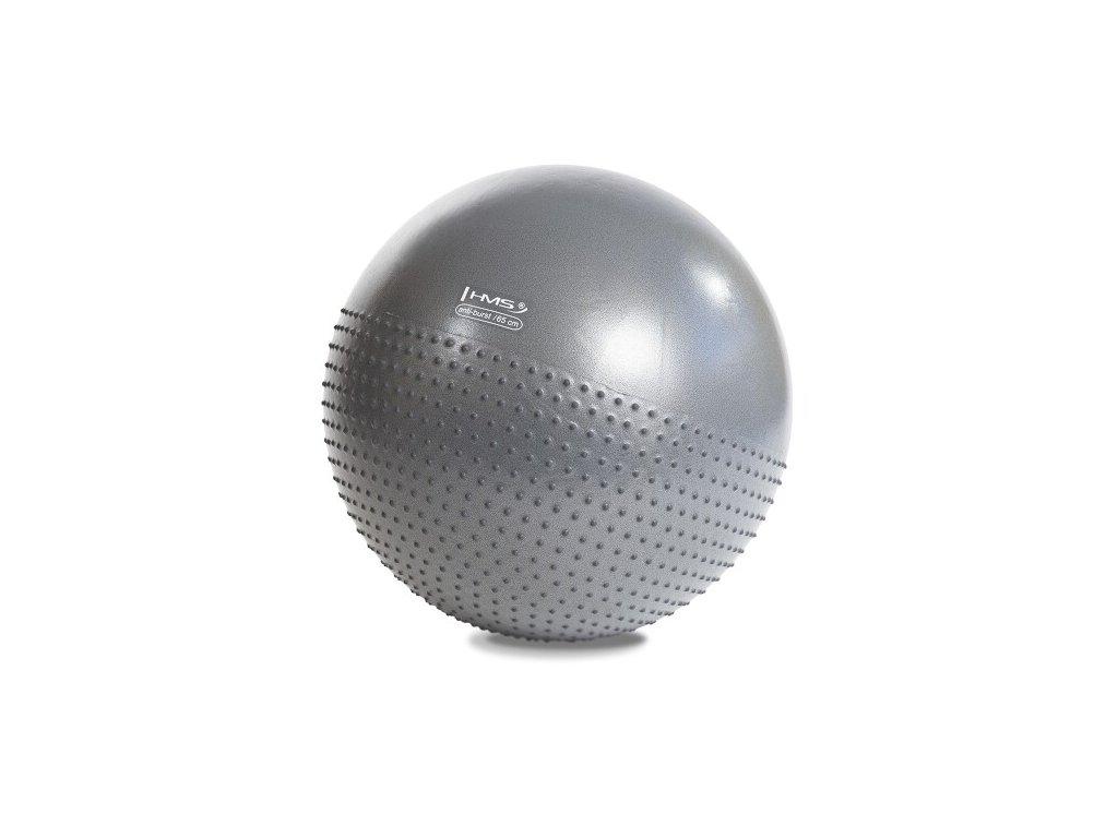 4811 masazni gymnasticky mic hms yb03 65 cm tmave sedy