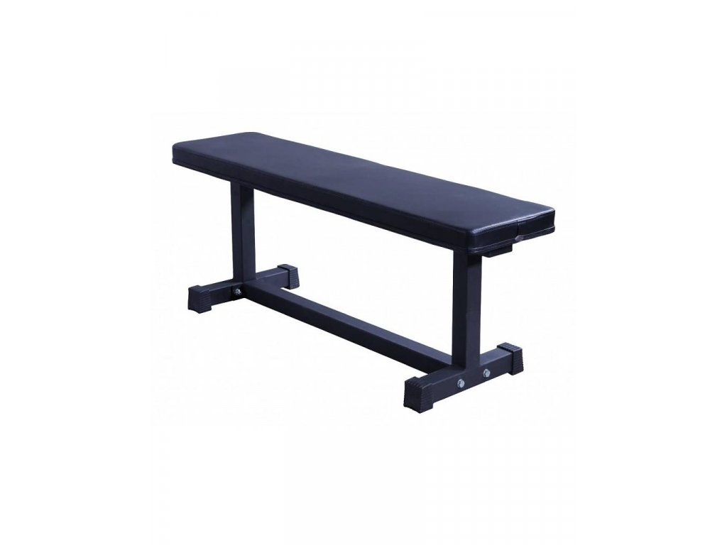 lifemaxx lmx1743 crossmaxx flat bench black
