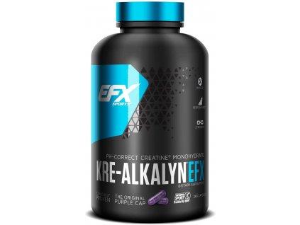 EFX Sports Kre-Alkalyn 3000 260 kapslí (Varianta patentovaná forma kreatinu)