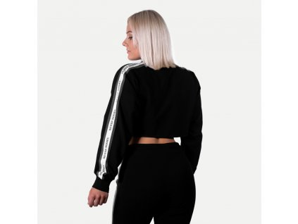 Better Bodies Crop Mikina Chrystie Black (Barva Černá, Velikost L, Určeno pro Ženy)