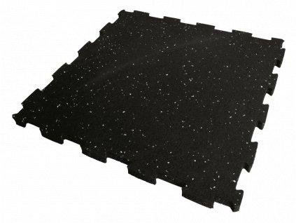 500 x 500 x 20 mm fitness gumová podlaha