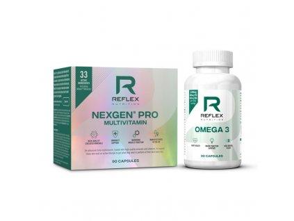 Nexgen PRO 90 kapslí (Varianta Reflex Nutrition)