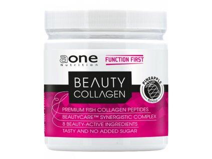 AONE Beauty Collagen 300g kolagenní peptidy z ryb s argininem kyselinou hyaluronovou vitaminem C a zinkem (Varianta Ananas)