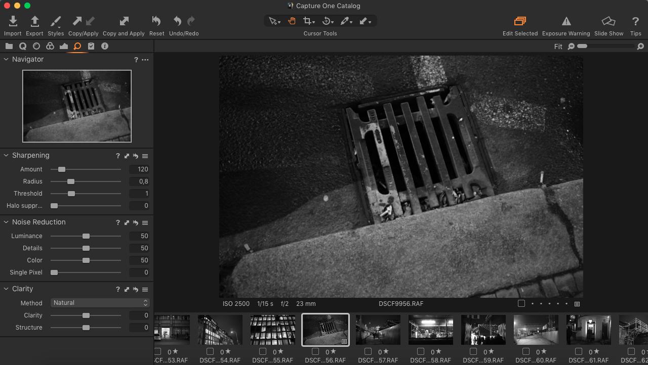 Capture ONE EXPRESS FUJIFLM 10 (Náhled před a po | lepší práce s presety)
