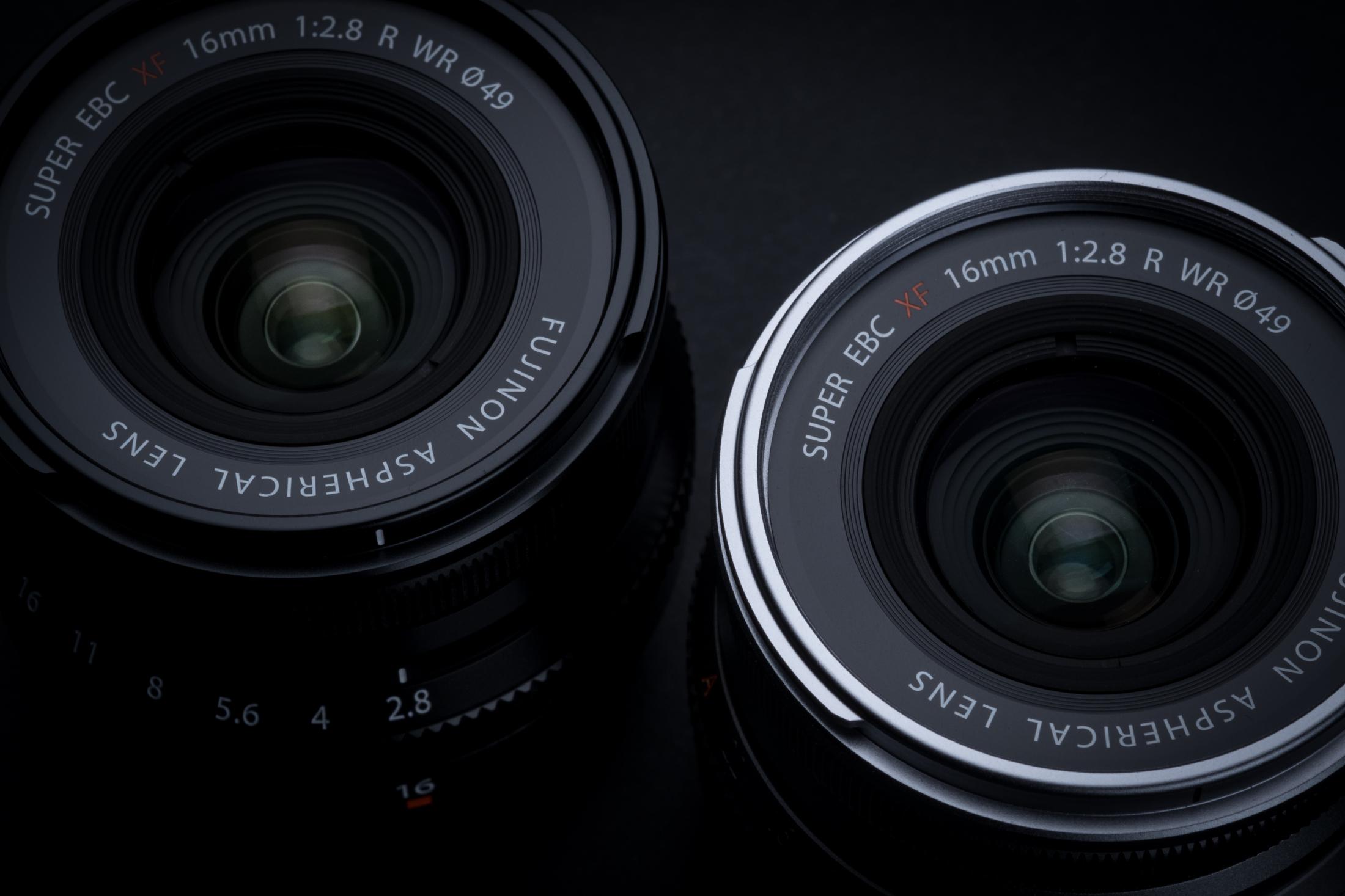 FUJINON XF 16mm f/2.8 WR - Kompaktní, lehký a stylový