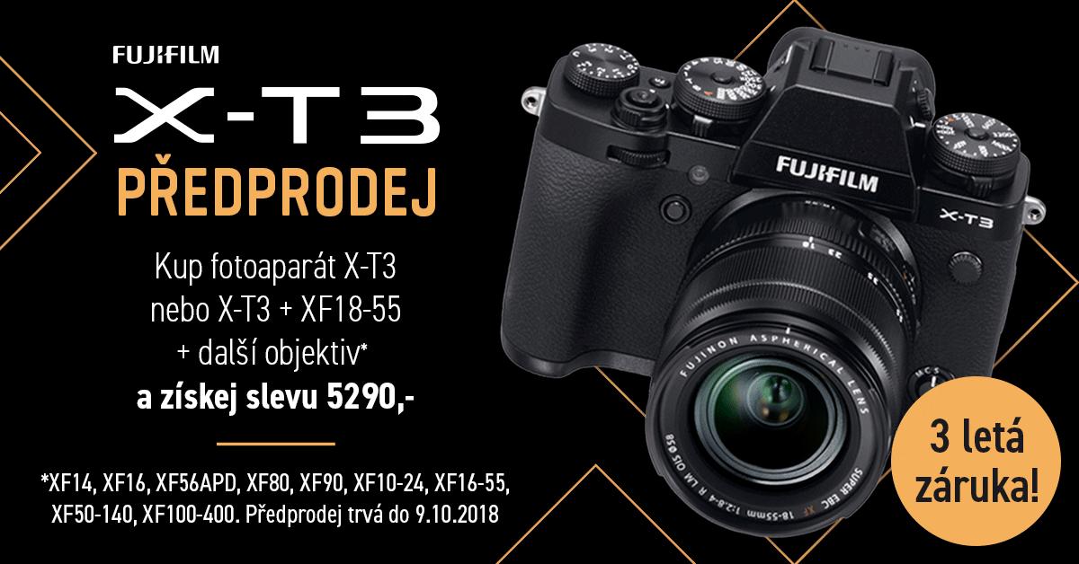 X-T3 předprodej