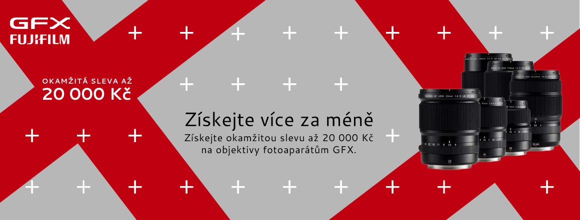 GFX objektivy SLEVA