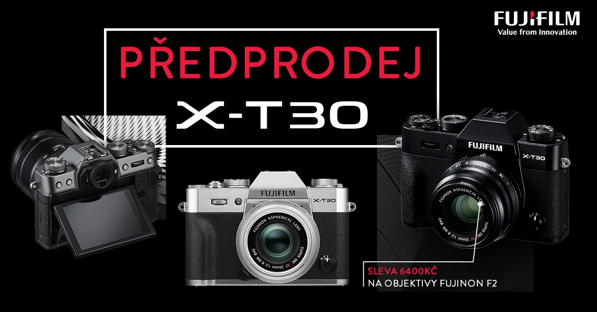 X-T30 předprodej