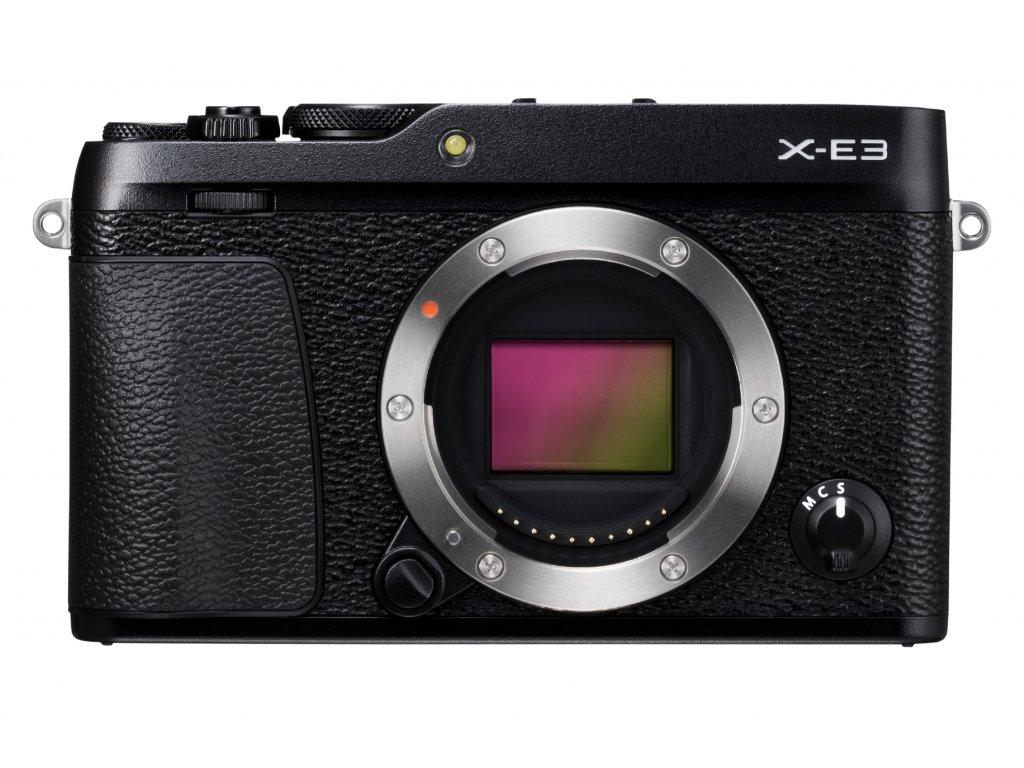 X E3 Black Front