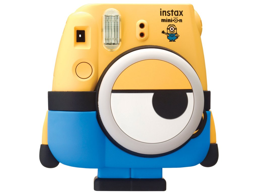 FUJIFILM Instax MINI MINION INSTANT CAMERA