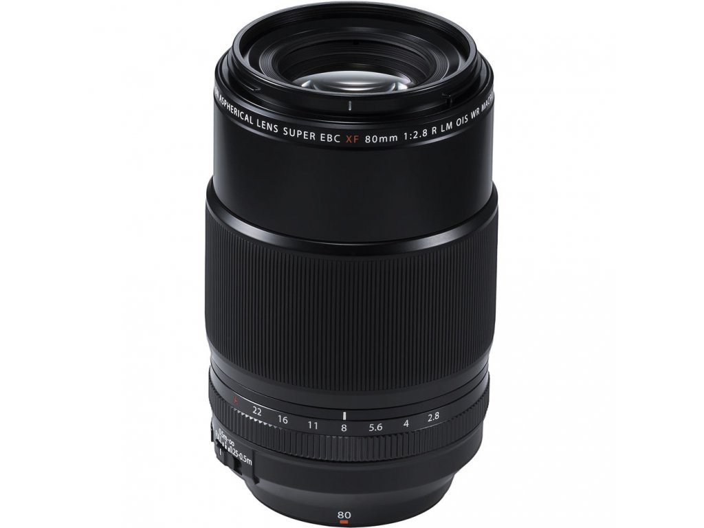FUJINON XF 80mm f/2.8 R LM OIS WR Macro  CASHBACK 3900,- Kč + dárkový set v hodnotě 4 000,- Kč