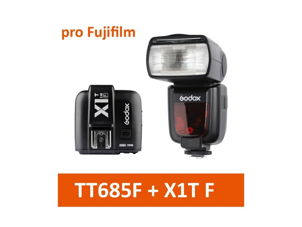 G TT685F X1TF externi blesk Godox TT685F a X1T 001