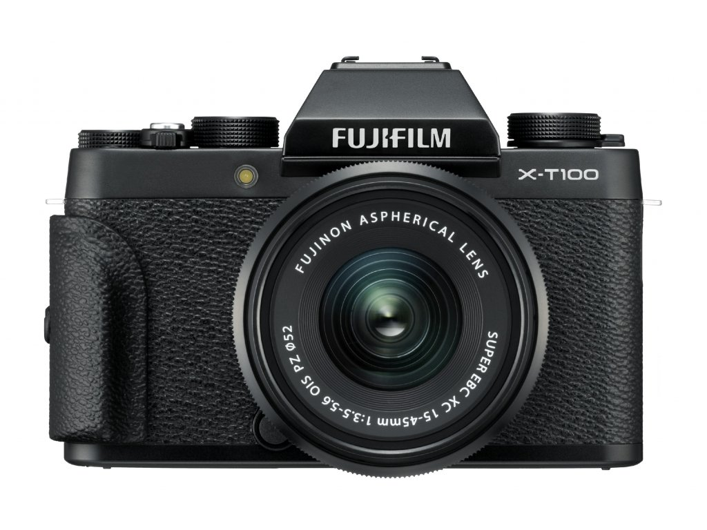 X T100 Black Front+Grip+XC15 45mmB