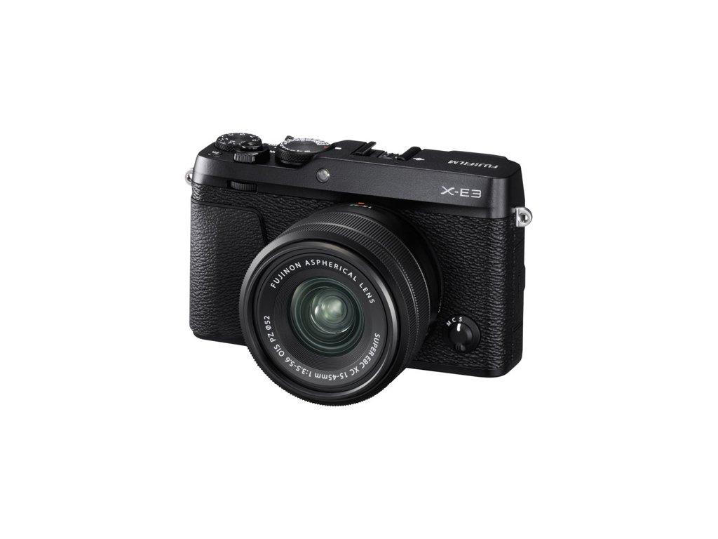 FUJIFILM X-E3 + XC 15-45mm/f3,5-5,6 OIS  CASHBACK 2600,- Kč + dárkový set v hodnotě 2 700,- Kč