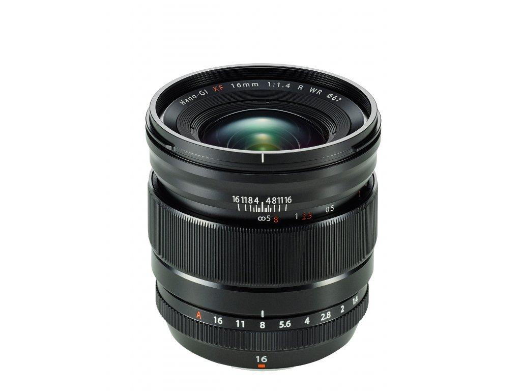 FUJINON XF 16mm/f1.4 R WR CASHBACK 3900,- Kč + dárkový set v hodnotě 2 700,- Kč