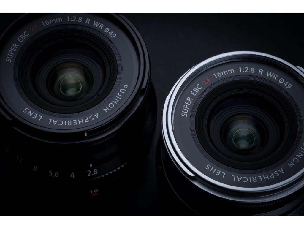 FUJINON XF 16mm f/2.8 WR + XF 50mm f/2 WR