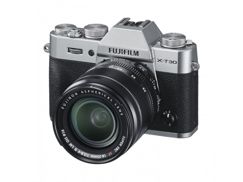 X T30 Silver Oblique+XF18 55