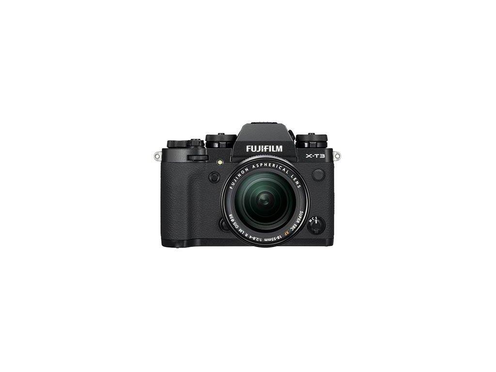 FUJIFILM X-T3 + XF 18-55mm/f2,8-4 - VRÁCEN VE 14 DNECH (záruka 2 roky) - černá