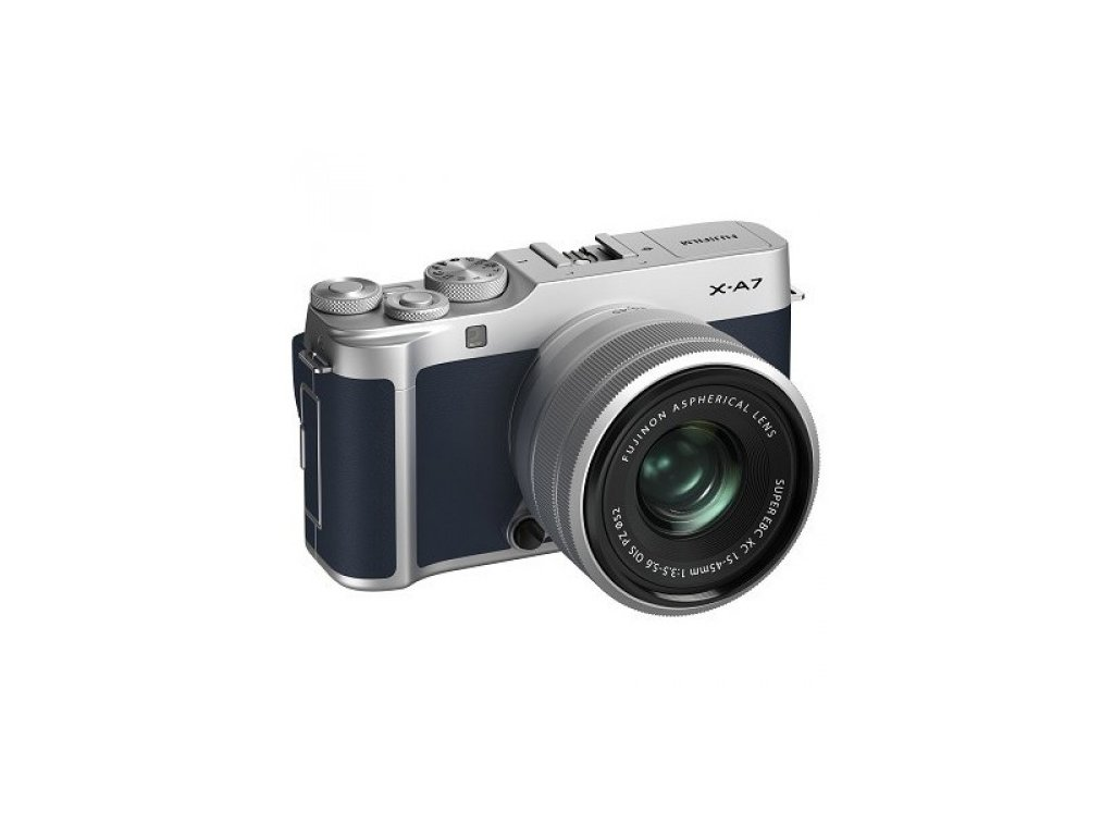 Fujifilm X A7 Kit 15 45mm (Navy Blue) (1) 500x500
